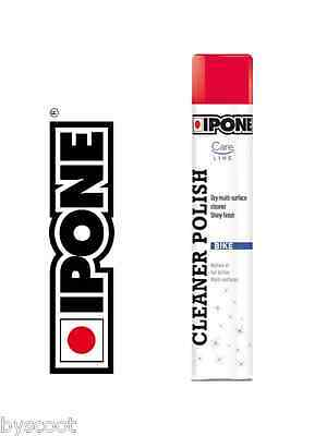 Spray lustrant IPONE CLEANER POLISH 750ml moto scooter carosserie cire brillant