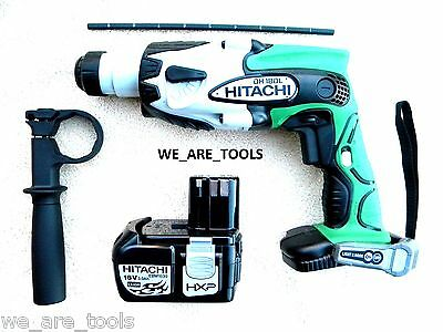 Hitachi Dh18Dl 18V Sds Rotary Hammer Drill, Ebm1830 Battery 18 Volt Hammerdrill