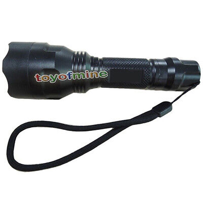 UltraFire C8 1300Lm CREE XM-L T6 LED High Power 18650 Flashlight Torch BRIGHTEST