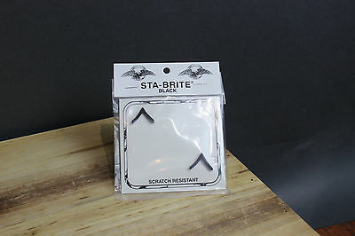New E-2 Private PVT Pin-On Submetal Sta-Black Army Rank Insignia, 2/Pack, E2