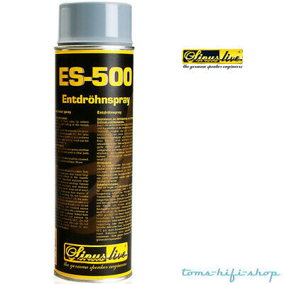 SinusLive ES-500 Entdröhnspray Anti Dröhn Spray Dämmspray Türdämmung 500ml