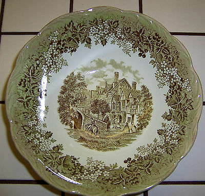 """J & G Meakin Romatic England 8"""" Vegtable Bowl West Gate & Leicester Hospital"""