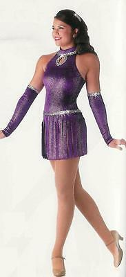 SENSATIONAL with MITTS! Jazz Tap Dance Ice Skating Costume SZ's CXS- AXL Avail!