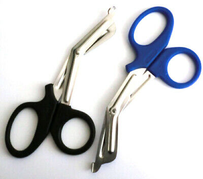 """New 2pc Combo 7 1/2"""" EMT Shears / Utility Scissors Medical First Aid & Emergency"""