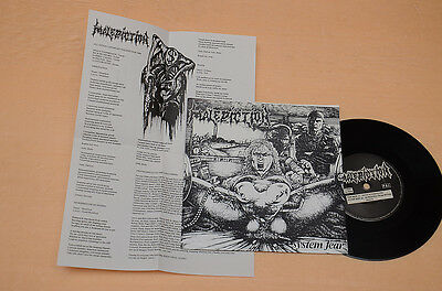 "Malediction 7"" Infestation Dark Metal 1°St Orig+Inserto Testi Collezionisti Ex++"
