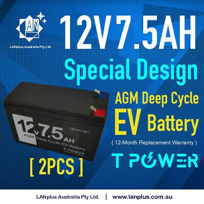 12V 7AH UPS SLA battery - brand new 12volt Sealed Lead Solar Scooter Bike