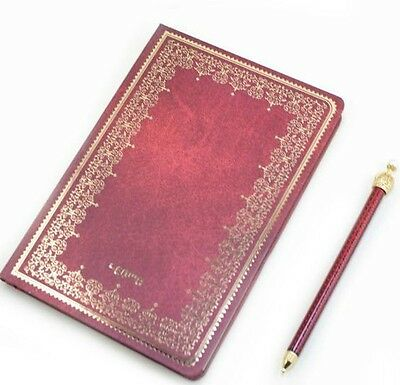 Classic Hardcover Diary Book Notepad Notebook Large