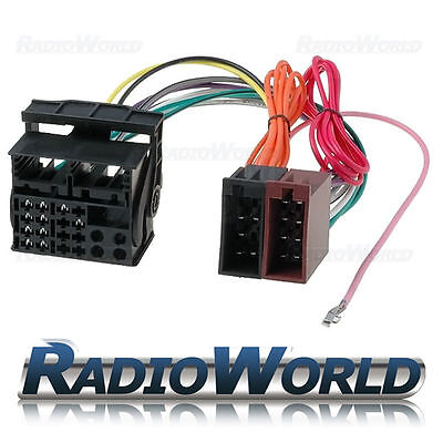 Vauxhall ISO to Quadlock Radio Conversion Lead Wiring Loom Harness Adaptor
