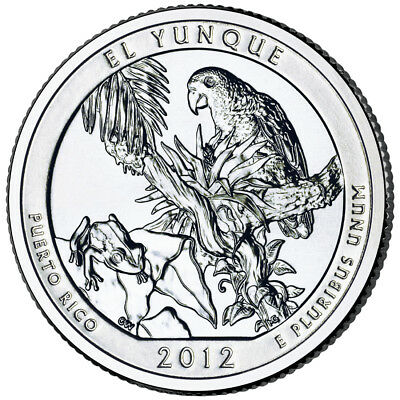 2012 ATB El Yunque National Park PR Quarters P&D set