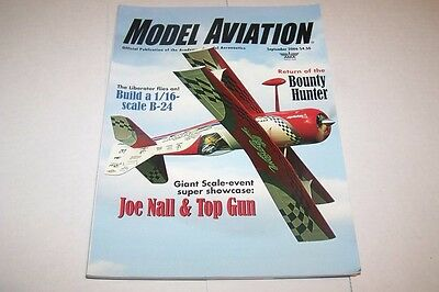 SEPT 2006 MODEL AVIATION vintage plane modelling magazine