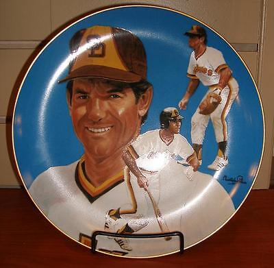 San Diego Padres Steve Garvey Hand-Signed Limited Edition Plate