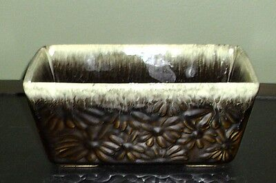 Vintage Hull ~ Green Drip Daisy Planter F17 ~ Excellent Condition