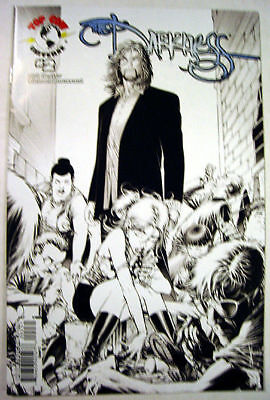 The DARKNESS vol 3 # 2 VARIANT Sketch B&W KEOWN Cover C  Drug Usage