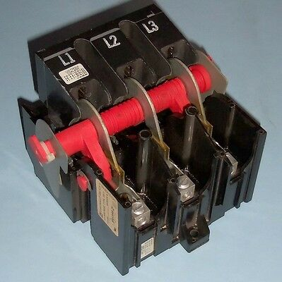 Square D 60A 600Vac Max Disconnect Switch Class 9422 Type Td-1 Lr44199