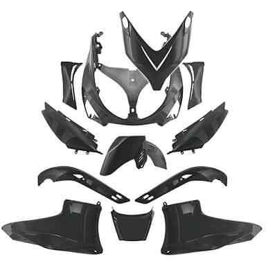 Kit Carrosserie Carénage 12 coques Tablier YAMAHA 500 TMAX T-MAX 2001 A 2007