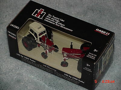 Ertl 1/64 Ih International Harvester 1466 And 1468 40Th Anniversary Set