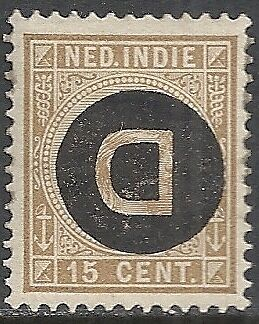 Netherland Indies stamps 1911 NVPH Service 3f  MLH  VF