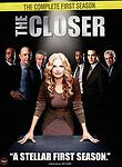 Closer - The Complete First Season BRAND NEW TNT DVD Kyra Sedgwick Simmons