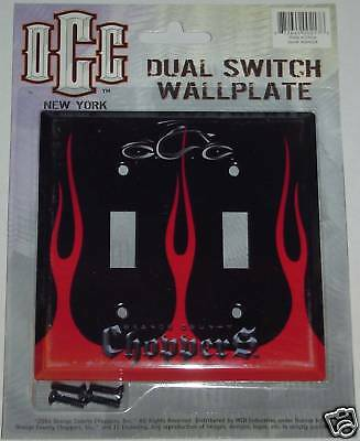 Orange County Choppers Occ New York Dual Light Switch Wallplate Cover