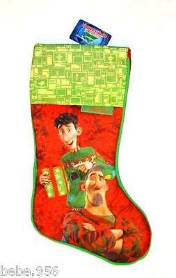 "NEW ARTHUR  CHRISTMAS STOCKING  17"" TALL COLLECTOR"