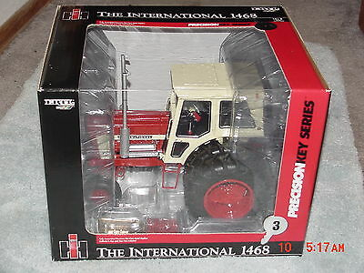 Ertl 1/16 Ih International Harvester 1468  Precision #3 Key Series Tractor