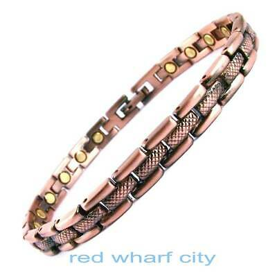 Ladies Bio Healing Copper Magnetic Therapy Bracelet-Arthritis Pain Relief