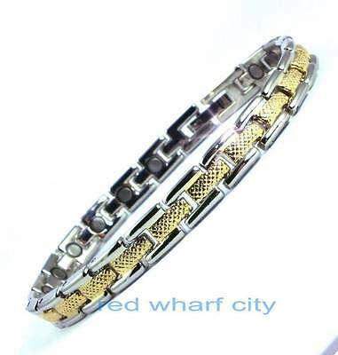 Ladies Bio Healing Magnetic Therapy Bracelet-Arthritis Pain Relief