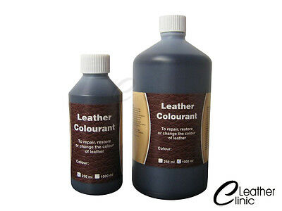 250 ml Leather Dye Stain Pigment Paint for Car Bike Sofa Boots 74 COLOURS