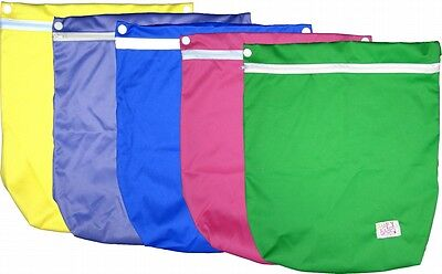CLEARANCE SALE - HAPPY BABES Cloth Nappy Wetbag - BUY 1 get 1 FREE