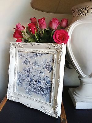 Shabby Chic Ornate Picture Photo frame Antique Vintage Style Wooden
