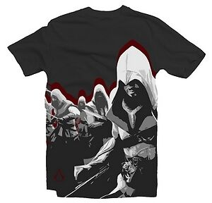 "T-SHIRT ASSASSIN'S CREED BROTHERHOOD ORIGINALE SU LICENZA TAGLIA "" xL "" 25877"