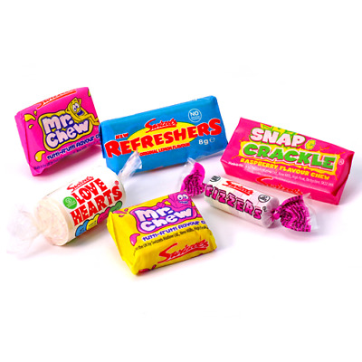 SWIZZELS MATLOW MINI MIX SWEETS x500G RETRO PARTY BAG FAVOURITES HALLOWEEN