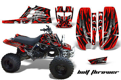 Yamaha Banshee 350 Fullbore Plastics Creatorx Graphics Kit Bolt Thrower Red