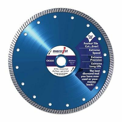 Marcrist CK850 200mm Diamond Tile Saw Blade TO FIT VITREX MACHINES