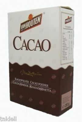 VAN HOUTEN COCOA POWDER 4 X 250g BB OVER 6 MONTHS