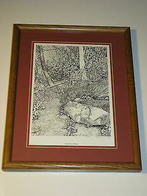 Virginia Stelzig Signed Limited Edition Appalachian Woods Framed Print