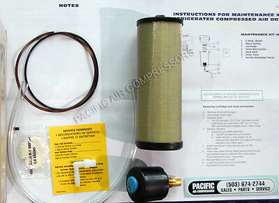 HANKISON REFRIGERATED AIR DRYER MAINTENANCE KIT HPRMK4 also fits models DRD, PRD
