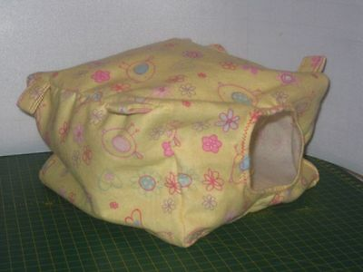 2x Rat Cube Hammock Bedding + 4 Metal Clips (also suitable for small ferrets)