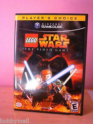 Gamecube Lego Star Wars The Video Game Complete 2245 Picclick