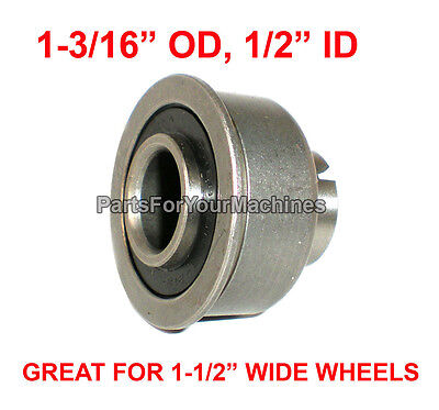 "PRECISION BEARING, 1-3/16"" OD x 1/2"" ID, FOR 1-1/2"" WIDE WHEELS,PROPANE BUFFERS"