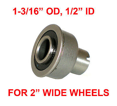 """PRECISION BEARING, 1-3/16"""" OD x 1/2"""" ID, FOR 2"""" WIDE WHEELS, FLOOR SCRUBBERS"""