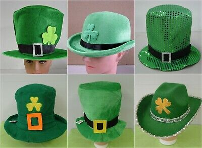 St Patricks Day Iris Green Hats