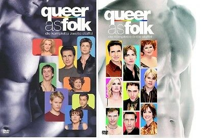 DVD Set * Queer as Folk * Staffel 2+3 (Qwer) NEU OVP
