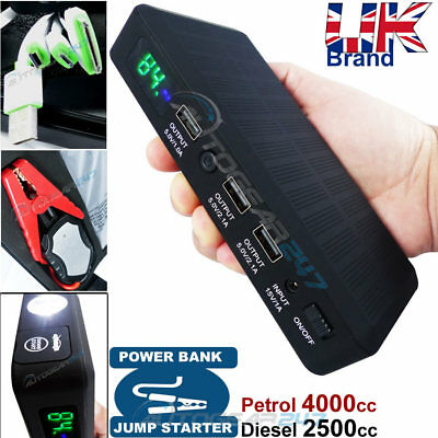 12v 600A Compact SWPB3 Portable Emergency Car Battery Jump Starter & Power Bank