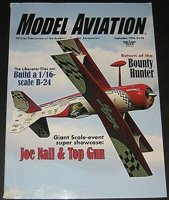 Model Aviation Magazine September 2006