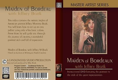 Master Art DVD Instuctional portrait painting Bozik see clips from the vid here!