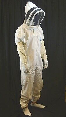 Sale! Professional-grade bee suit, Beekeeper suit * FREE GLOVES * Large Size