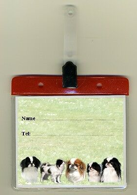 Japanese Chin Cage Identity Badge for Dog Show Crates & Cages by Starprint