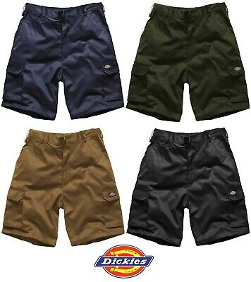 Dickies WD834 Redhawk Cargo Combat Mens Work SHORTS Trousers BLACK or NAVY BLUE