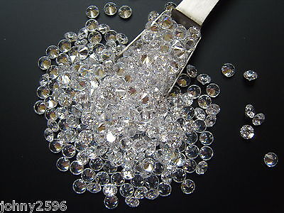 4.5mm clear cubic zirconia loose gemstones 5 for £1.10p